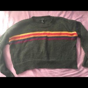 Forever 21 Crop top sweatshirt